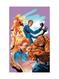 Marvel Age Fantastic Four No.9 Cover: Mr. Fantastic Lámina por Makoto Nakatsuka