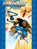 Ultimate Fanastic Four No.13 Cover: Mr. Fantastic Prints by Adam Kubert