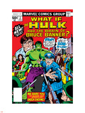 What If No.2 Cover: Hulk, Thunderbolt Ross, Banner and Bruce Plastic Sign by Herb Trimpe