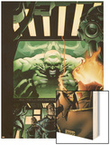 Incredible Hulk No.84 Cover: Hulk, Pyro and Vanisher Wood Print by Andy Brase