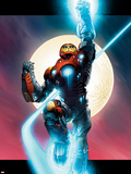 Ultimate Iron Man No.1 Cover: Iron Man Plastic Sign by Andy Kubert