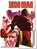Iron Man No.15 Cover: Iron Man, Hulk, Thor, Stark and Tony Prints by Gerald Parel