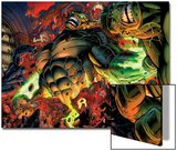 Incredible Hulks No.618: Abomination Fighting Poster by Paul Pelletier