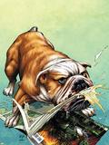 WWH Aftersmash: Damage Control No.2 Cover: Hulk Wall Decal by John Romita Jr.