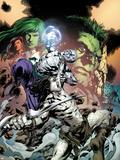 Incredible Hulks No.617 Cover: Hiro Kala and Skaar Fighting Wall Decal by Carlo Pagulayan