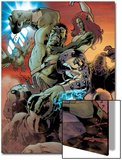 World War Hulk: Gamma Corps No.3 Cover: Hulk Prints by Stephane Roux