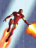 Iron Man & The Armor Wars No.3 Cover: Iron Man Wall Decal by Francis Tsai
