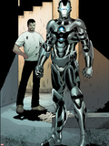 Iron Man 2.0 No.3: War Machine Plastic Sign by Barry Kitson