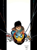Ultimate Iron ManNo.2 Cover: Iron Man Plastic Sign by Andy Kubert