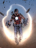 Iron Man Legacy No.8: Tony Stark Walking Plastic Sign by Steve Kurth