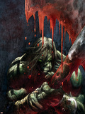 Skaar: Son Of Hulk Presents - Savage World Of Sakaar No.1 Cover: Skaar Plastic Sign by Ron Garney