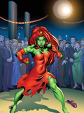 She-Hulks No.4 Cover: Lyra Plastic Sign by Ed McGuinness