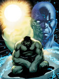 Incredible Hulks No.617: Hulk Sitting Plastic Sign by Barry Kitson