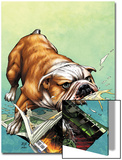 WWH Aftersmash: Damage Control No.2 Cover: Hulk Prints by John Romita Jr.