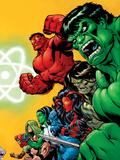 Fall of the Hulks: Gamma No.1 Cover: Hulk Wall Decal by Ed McGuinness