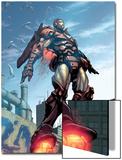 Iron Man No.89 Cover: Iron Man Art by Pat Lee