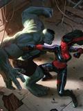 Incredible Hulks No.628 Cover: Hulk and Red She-Hulk Plastic Sign by Doug Braithwaite
