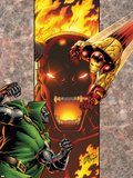 Iron Man: Legacy Of Doom No.2 Cover: Iron Man and Dr. Doom Plastic Sign by Ron Lim