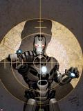 Iron Man 2.0 No.4 Cover: War Machine Plastic Sign by Salvador Larroca