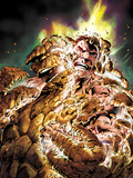 Fantastic Four No.584 Cover: Thing Transforming Láminas por Alan Davis
