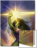 She-Hulk: Cosmic Collision No.1 Cover: She-Hulk Prints by Stjepan Sejic