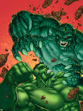 Marvel Age Hulk No.4 Cover: Hulk and Abomination Wall Decal by John Barber