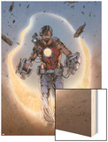 Iron Man Legacy No.8: Tony Stark Walking Wood Print by Steve Kurth