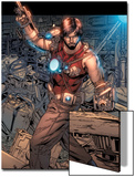 Iron Man Legacy No.7: Tony Stark Standing Prints by Steve Kurth