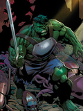 Incredible Hulks No.624: Hulk with a Sword Plastic Sign by Dale Eaglesham