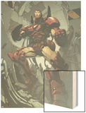 Iron Man No.86 Cover: Iron Man Wood Print by Pat Lee
