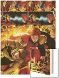 Marvel Adventures Iron Man No.3 Group: Iron Man, Pepper Potts and Virginia Wood Print by Ronan Cliquet