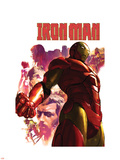 Iron Man No.15 Cover: Iron Man, Hulk, Thor, Stark and Tony Wall Decal by Gerald Parel