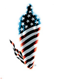 Fallen Son: The Death Of Captain AmericaNo.5 Cover: Captain America Plastic Sign by John Cassaday