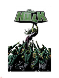 She-Hulk No.31 Cover: She-Hulk and Madrox Plastic Sign by Mike Deodato