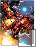 The Invincible Iron Man No.1 Cover: Iron Man Print by Joe Quesada