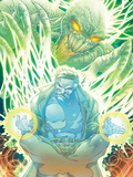 Incredible Hulks No.618: Dr. Strange Sitting Plastic Sign by Paul Pelletier