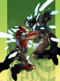 Ultimate Iron Man II No.2 Cover: Iron Man and War Machine Wall Decal by Pasqual Ferry