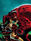 Hulk No.15 Cover: Elektra and Rulk Wall Decal by Ian Churchill