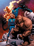 Fantastic Four Special No.1 Cover: Mr. Fantastic Plastic Sign by Casey Jones