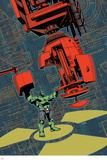 Indestructible Hulk 17 Cover: Hulk Plastic Sign by Mahmud A. Asrar