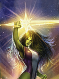 She-Hulk: Cosmic Collision No.1 Cover: She-Hulk Wall Decal by Stjepan Sejic