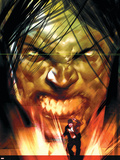 Dark Reign: The List - Hulk No.1 Cover: Banner, Bruce and Skaar Plastic Sign by Ben Oliver