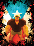 Fantastic Four: Isla De La Muerte No.1 Cover: Thing Plastic Sign by Juan Doe