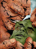 Hulk & Thing: Hard Knocks No.2 Cover: Hulk and Thing Swinging Posters by Jae Lee