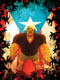 Fantastic Four: Isla De La Muerte No.1 Cover: Thing Pósters por Juan Doe