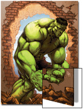 Marvel Age Hulk No.3 Cover: Hulk Prints by John Barber