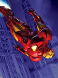 Marvel Adventures Iron Man No.3 Cover: Iron Man Wall Decal by Michael Golden