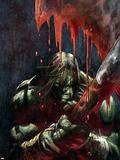 Skaar: Son Of Hulk Presents - Savage World Of Sakaar No.1 Cover: Skaar Wall Decal by Ron Garney