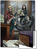 Dark Reign: The List - Hulk No.1 Group: Ms. Marvel, Osborn, Norman, Hand and Victoria Prints by Ben Oliver