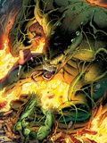Incredible Hulks No.619: Hulk Trapped Plastic Sign by Paul Pelletier